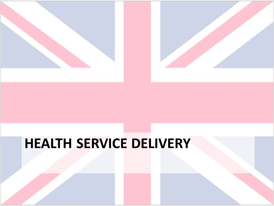 Health Service Delivery