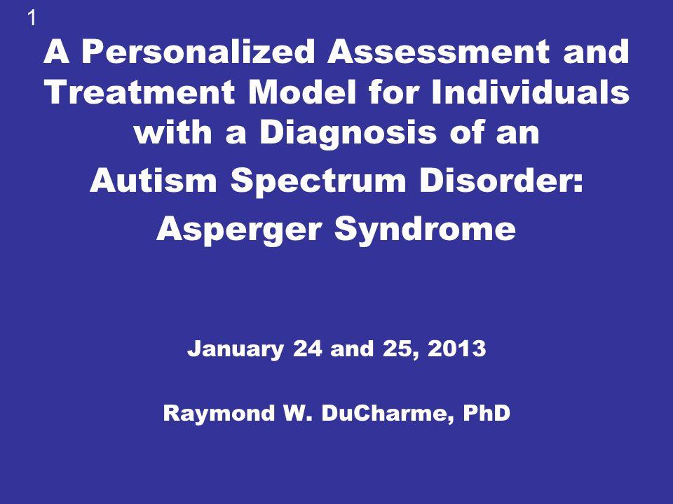 Autism Spectrum Disorder: