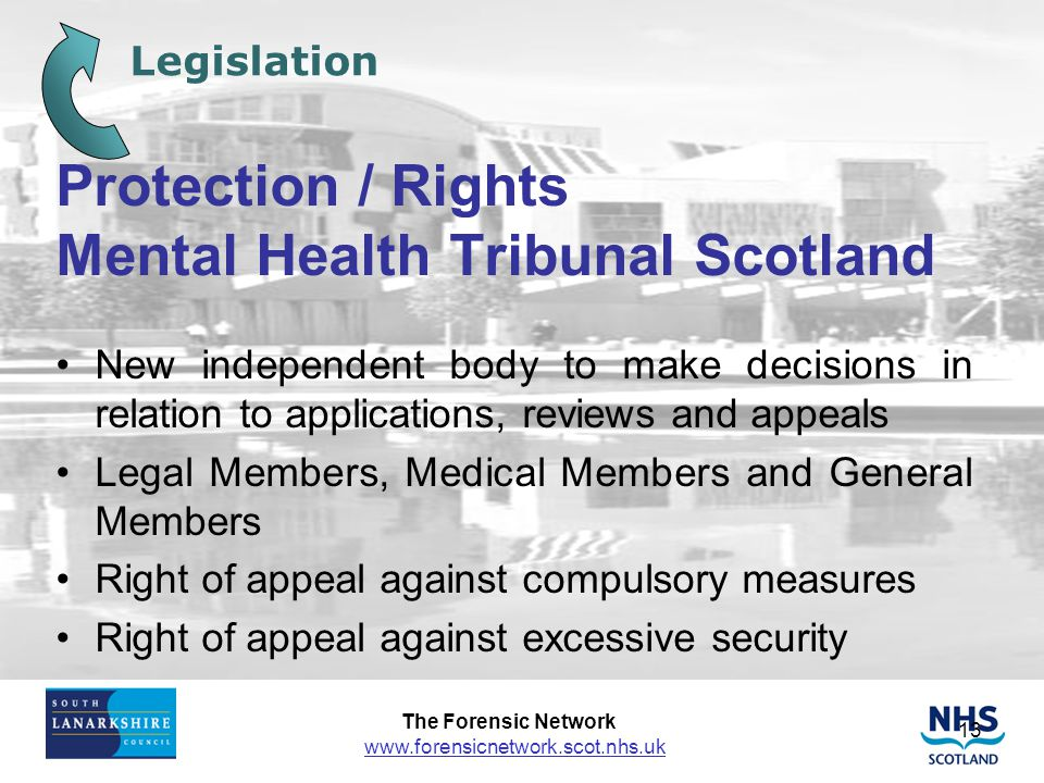 Protection / Rights Mental Health Tribunal Scotland
