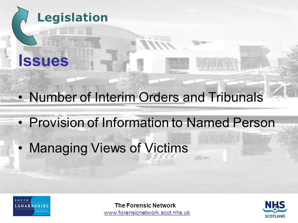 Issues Number of Interim Orders and Tribunals
