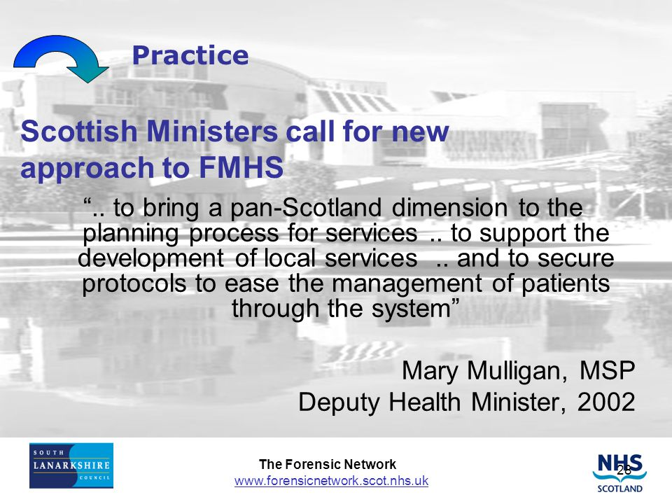 Scottish Ministers call for new approach to FMHS