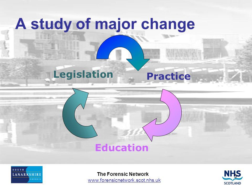 A study of major change Legislation Practice Education