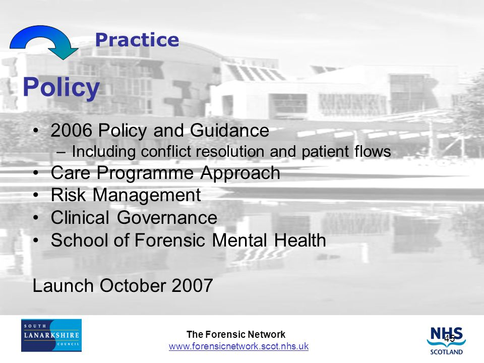 Policy Practice 2006 Policy and Guidance Care Programme Approach