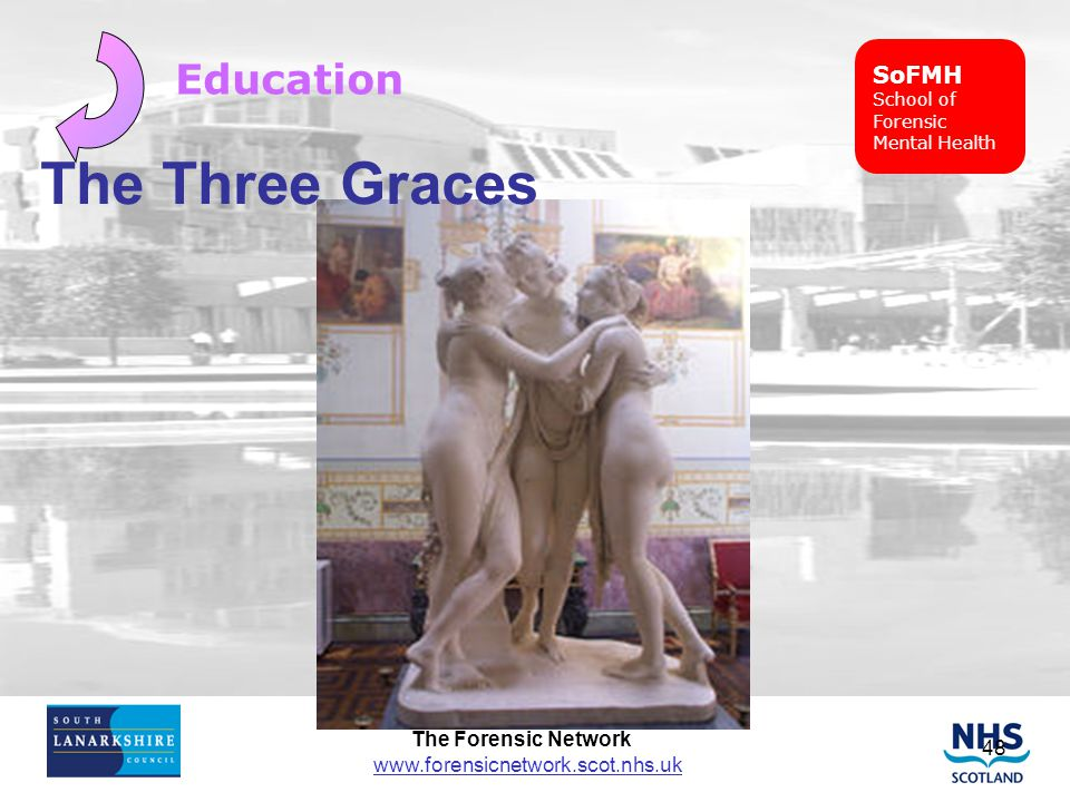 SoFMH School of Forensic Mental Health Education The Three Graces
