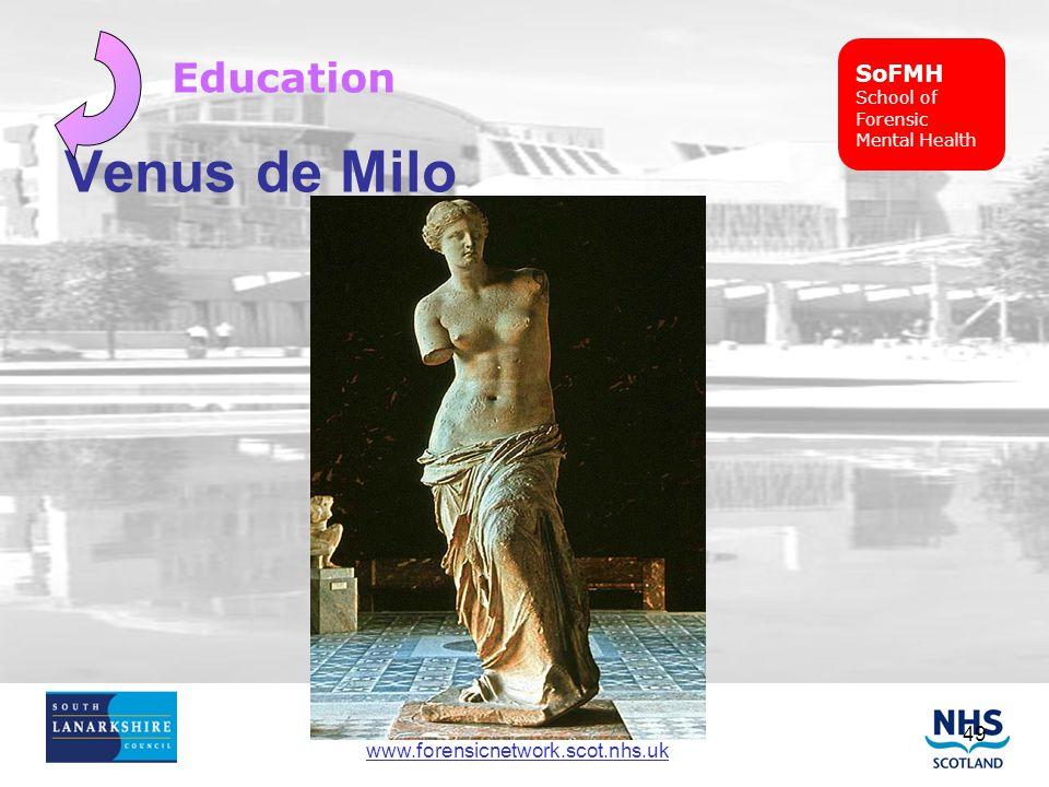 SoFMH School of Forensic Mental Health Education Venus de Milo