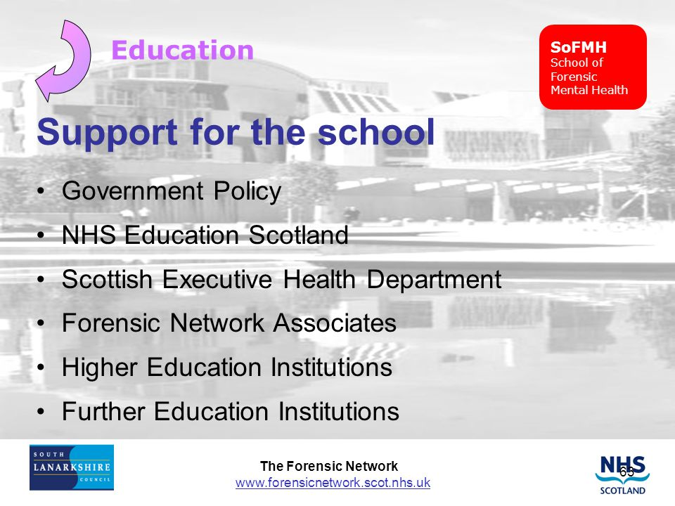 Support for the school Education Government Policy