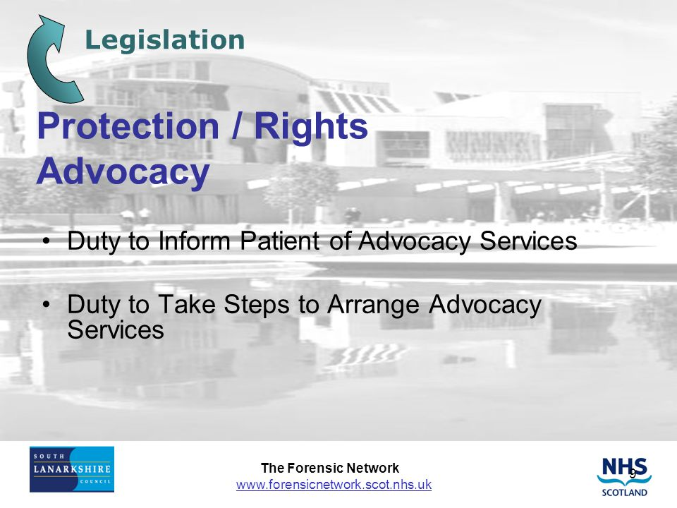 Protection / Rights Advocacy