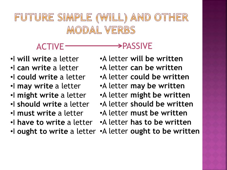FUTURE SIMPLE (WILL) AND OTHER MODAL VERBS