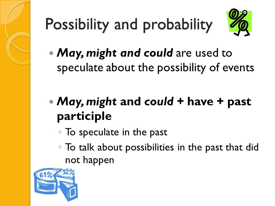 Possibility and probability