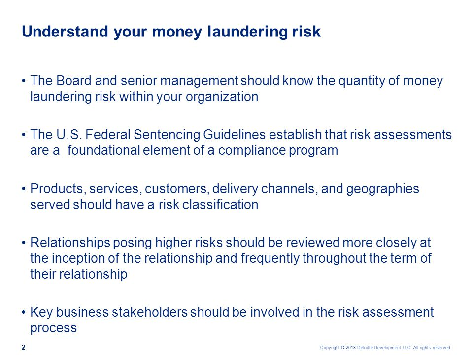 Risk assessment Institutions should identify, measure and consider four main risk measures.