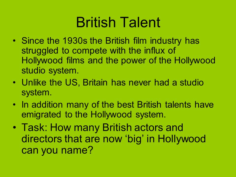 British Talent