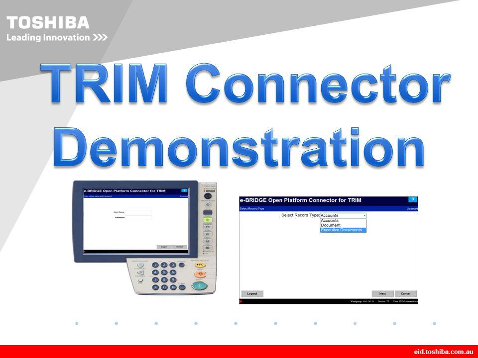 TRIM Connector Demonstration