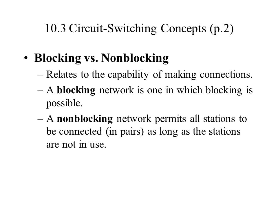 10.3 Circuit-Switching Concepts (p.2)