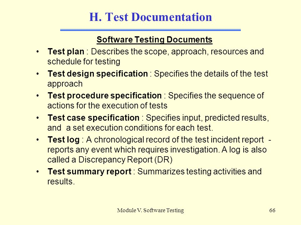 Csdp Preparation Course Module V: Software Testing - Ppt Download