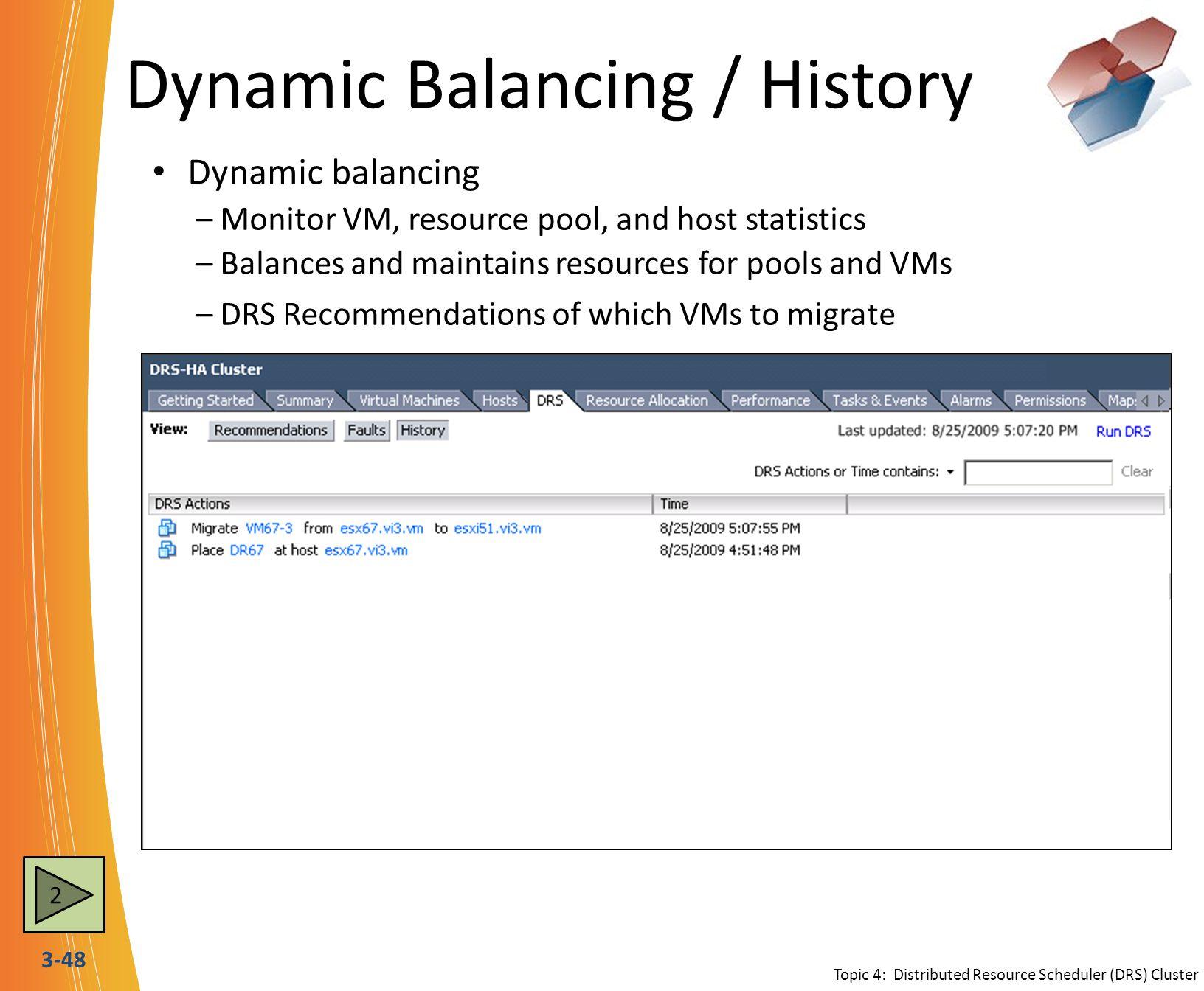 Dynamic Balancing / History