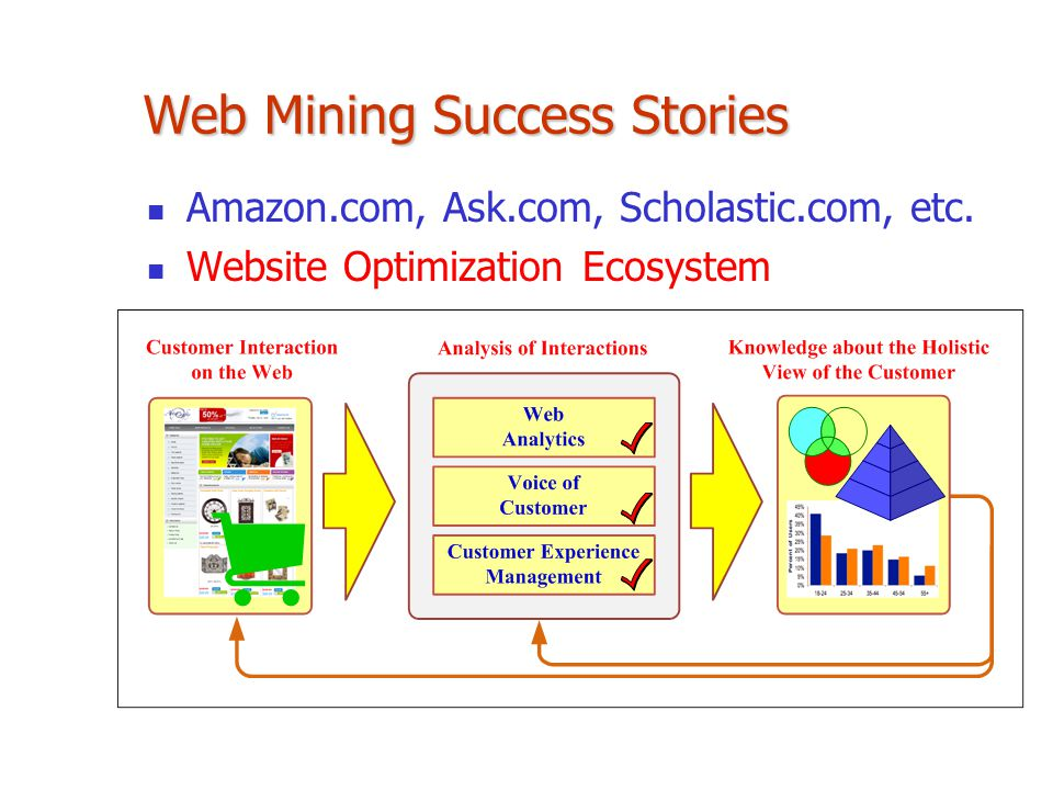 Web Mining Success Stories