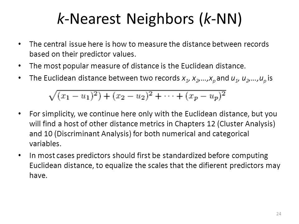 k-Nearest Neighbors (k-NN)