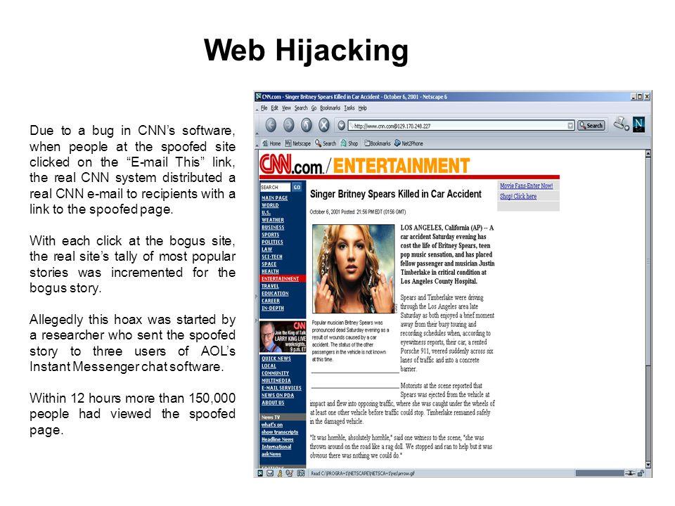 Web Hijacking