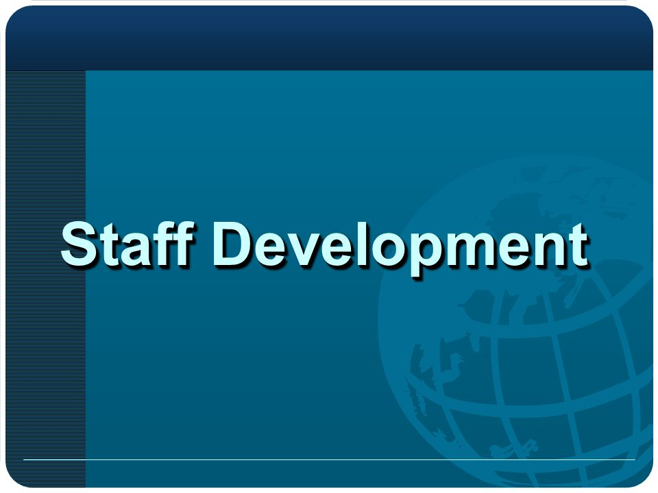 Staff Development