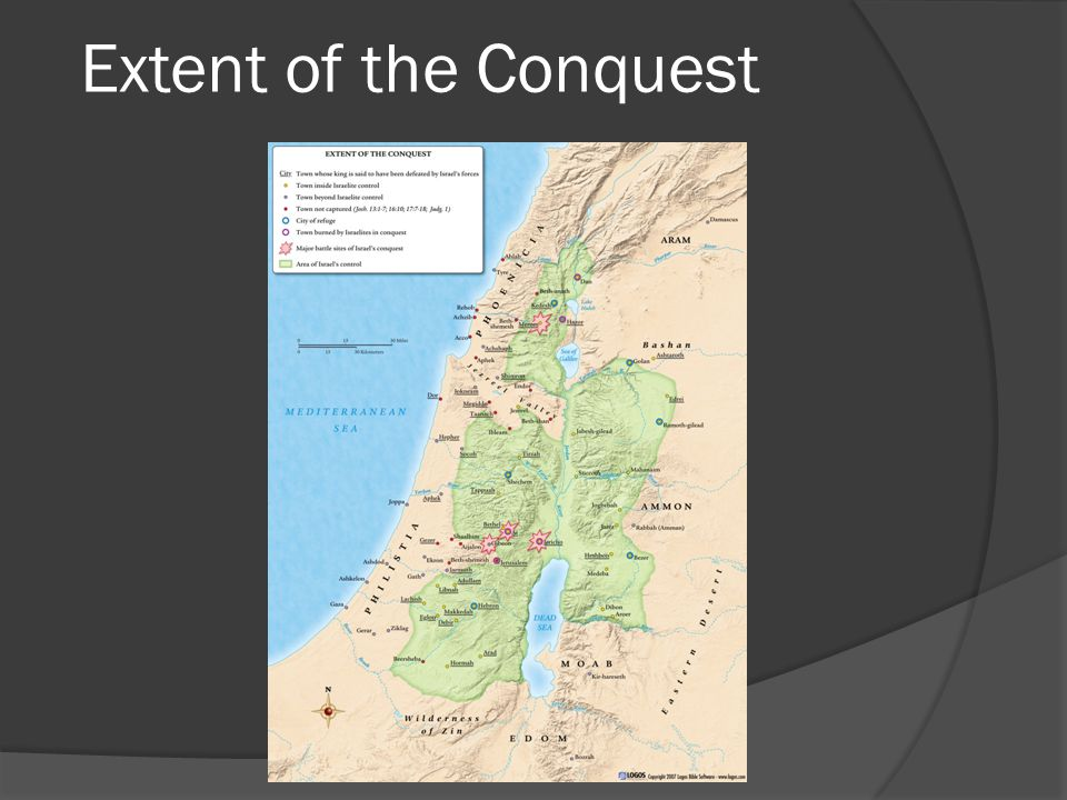 Extent of the Conquest