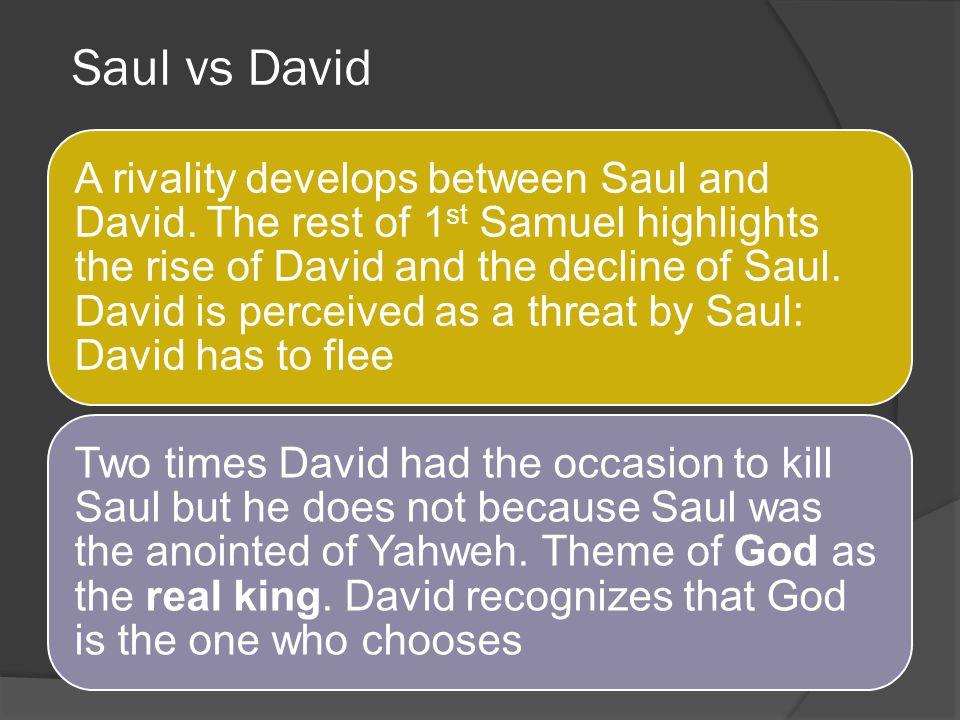 Saul vs David