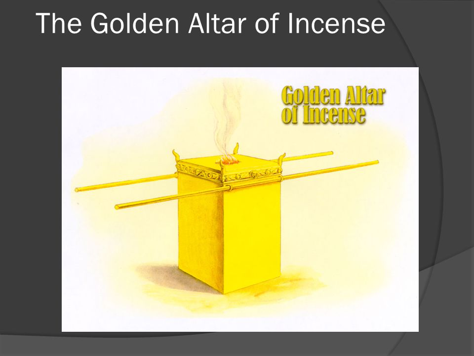 The Golden Altar of Incense