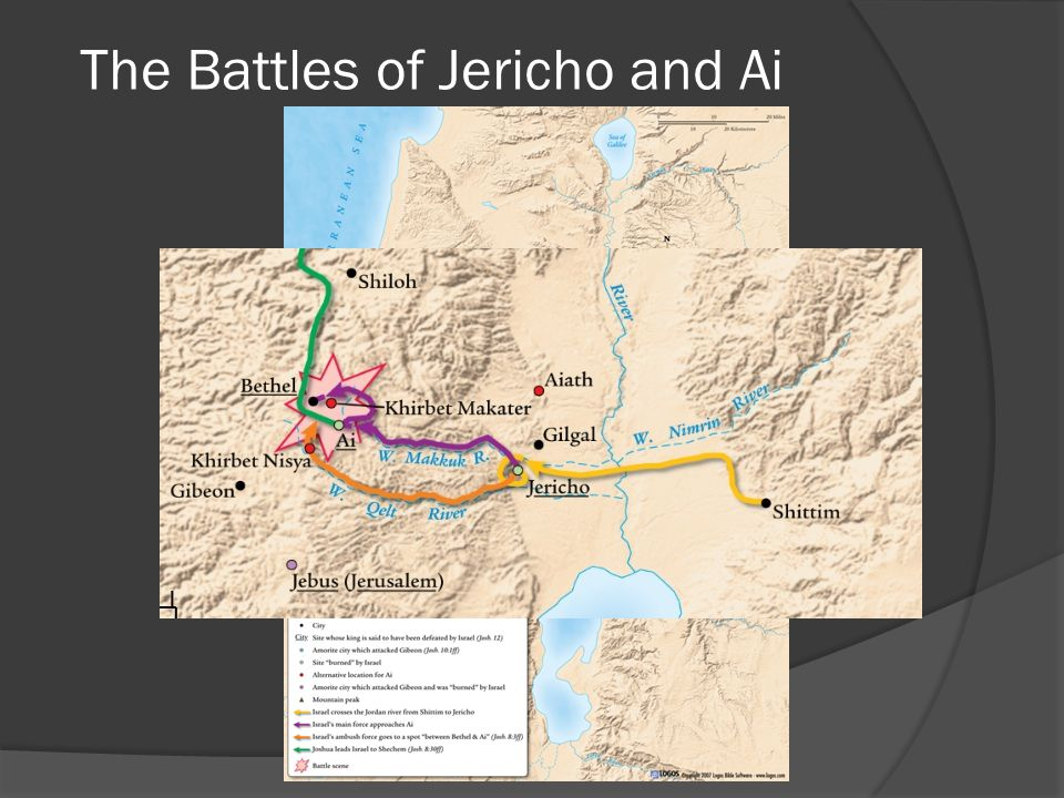 The Battles of Jericho and Ai