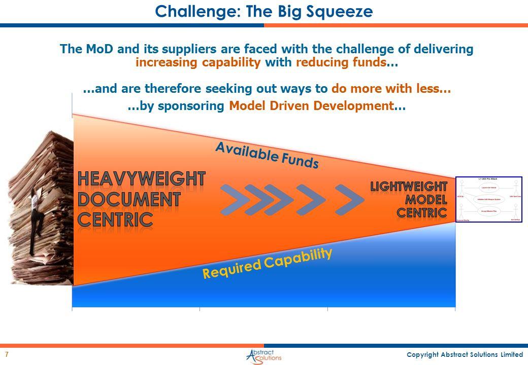 Challenge: The Big Squeeze