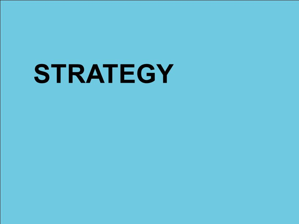 STRATEGY AS