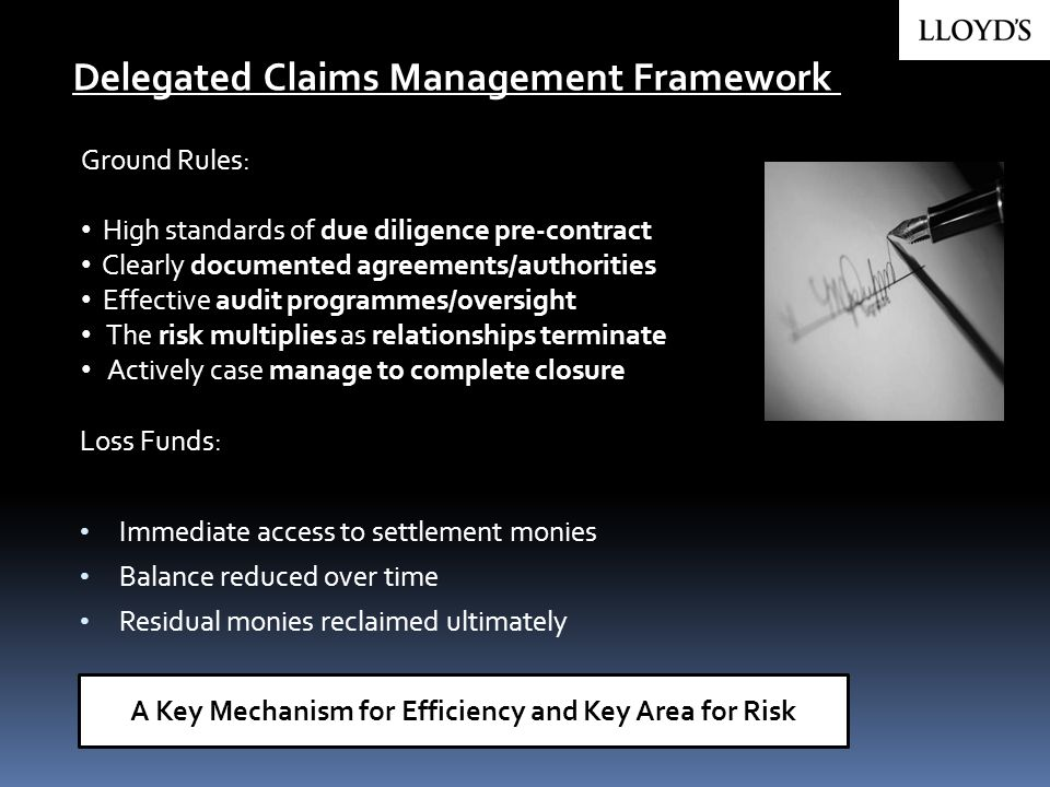 A Key Mechanism for Efficiency and Key Area for Risk