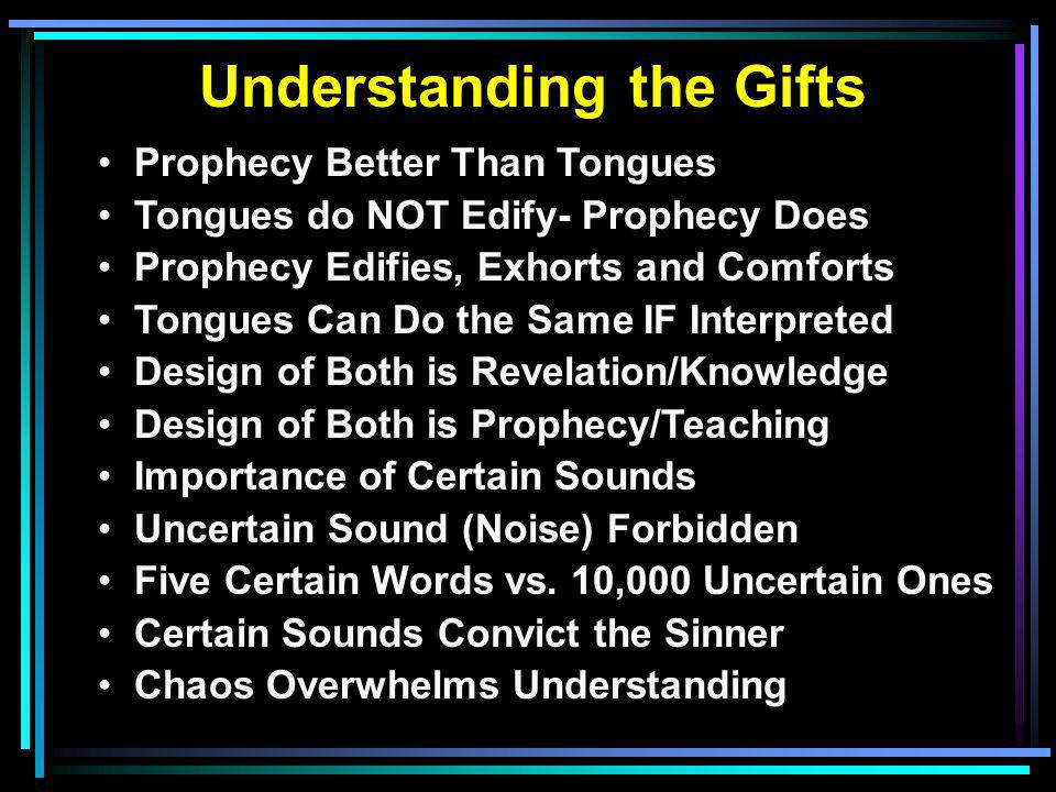 Understanding the Gifts