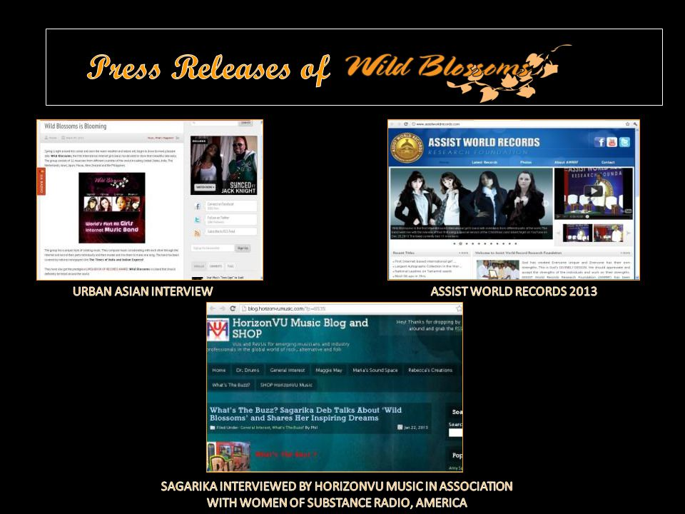 Press Releases of URBAN ASIAN INTERVIEW ASSIST WORLD RECORDS 2013