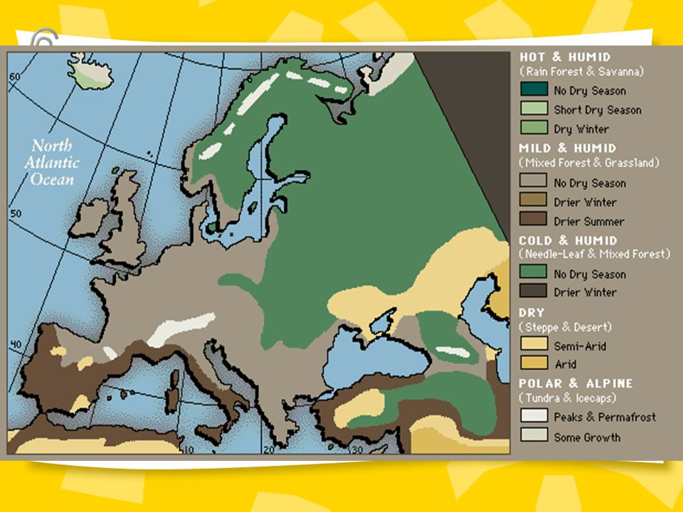 : Climate Map