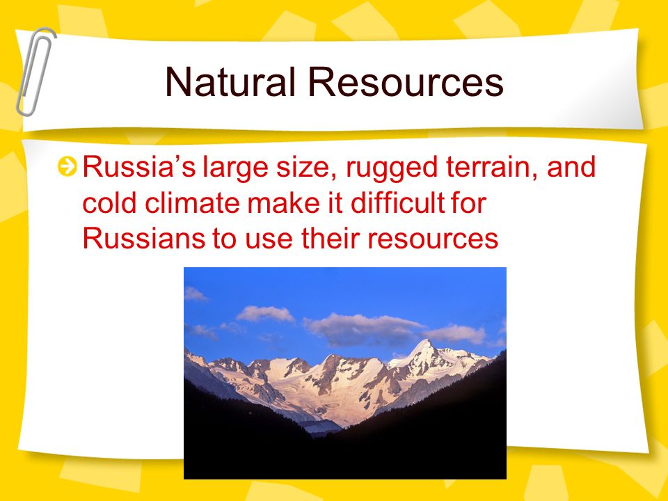 Natural Resources of Ukraine