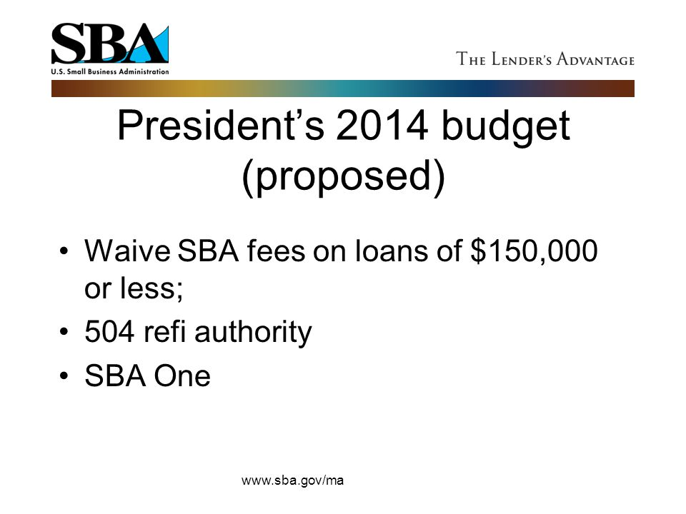 President's 2014 budget (proposed)