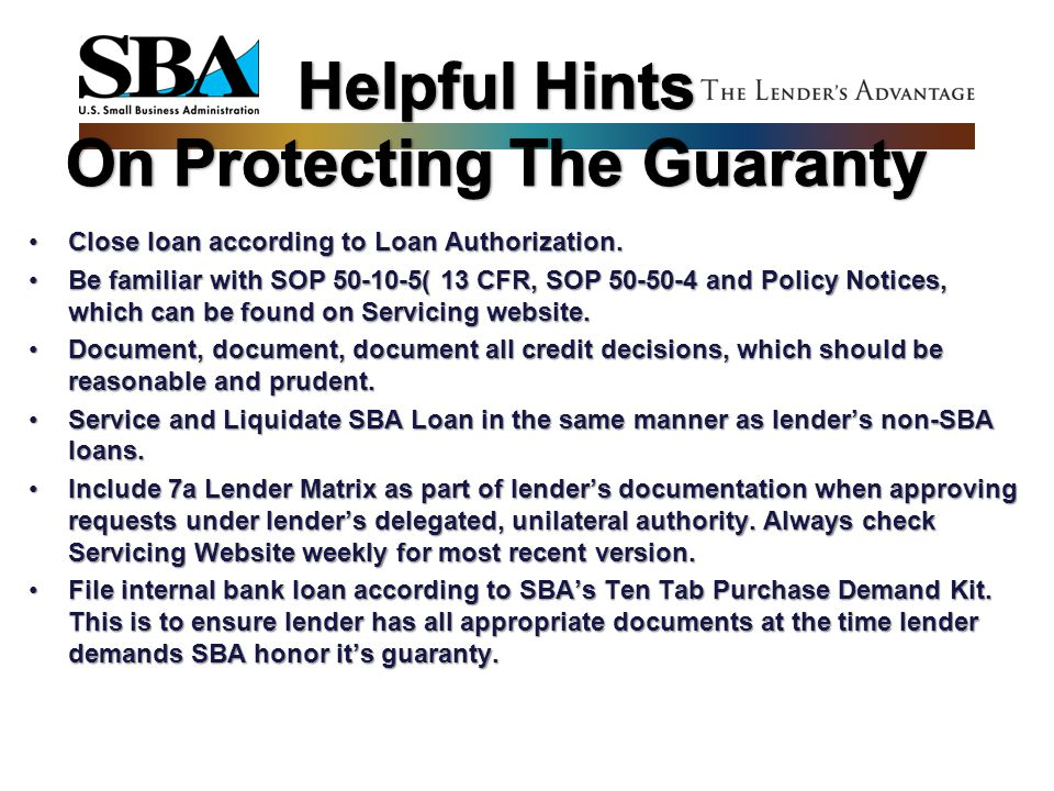 Helpful Hints On Protecting The Guaranty