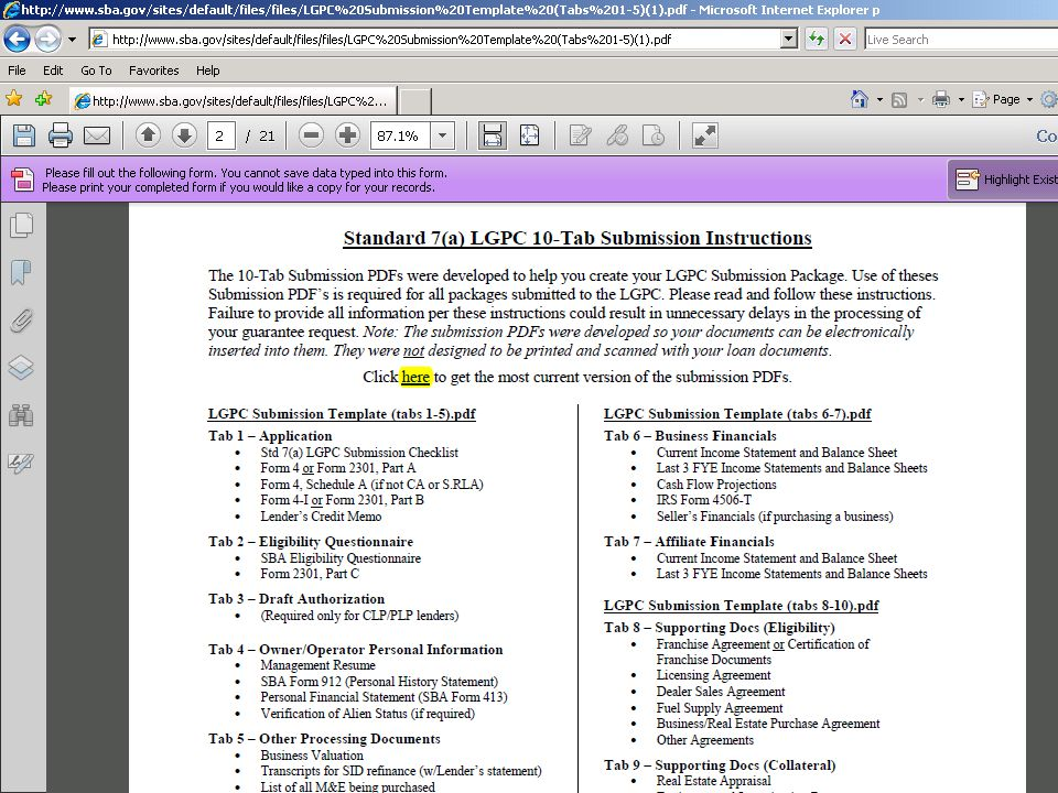 2008 www.sba.gov (add local information on master slide)