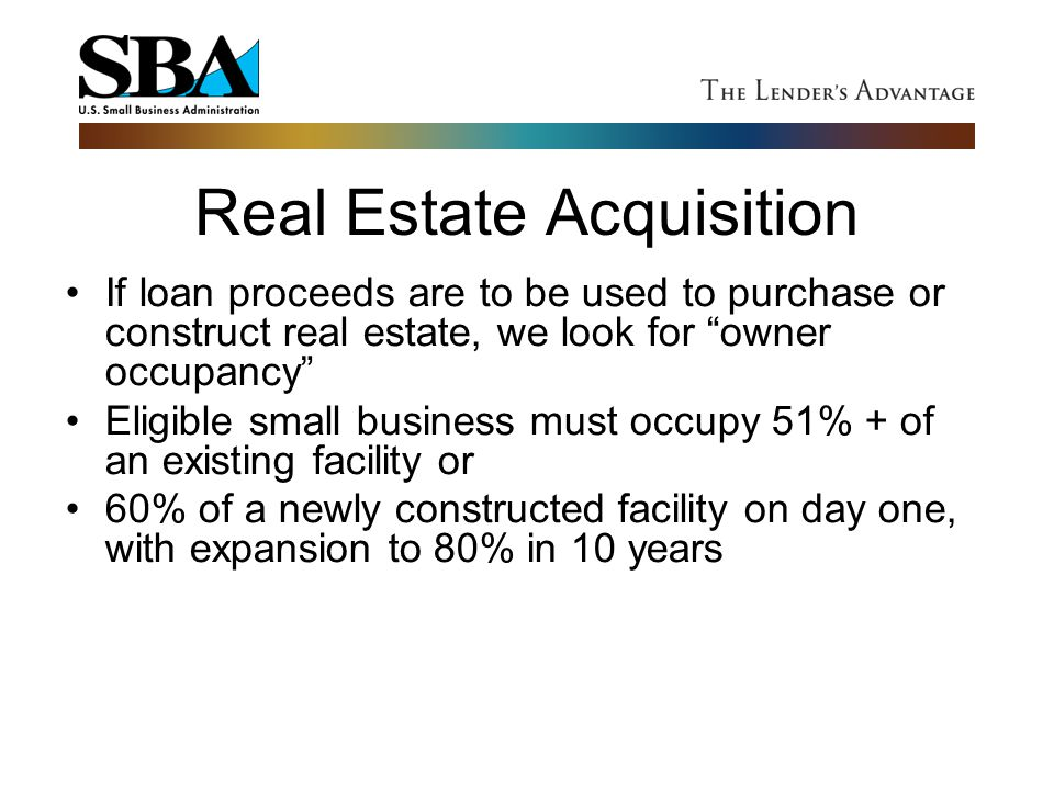 Real Estate Acquisition