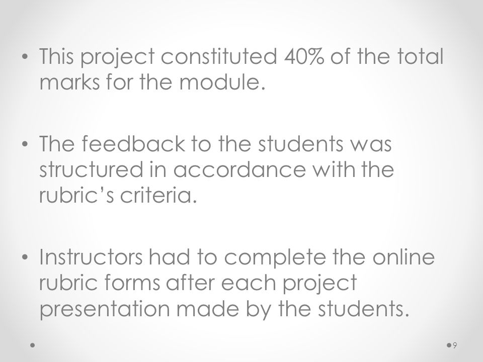 This project constituted 40% of the total marks for the module.