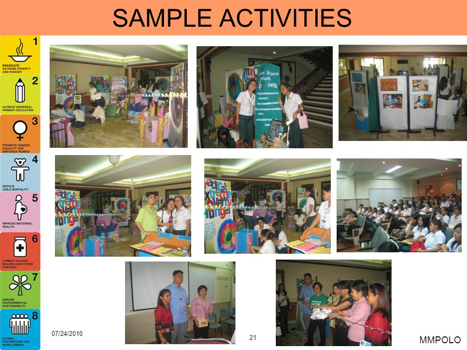 SAMPLE ACTIVITIES 07/24/2010 MMPOLO
