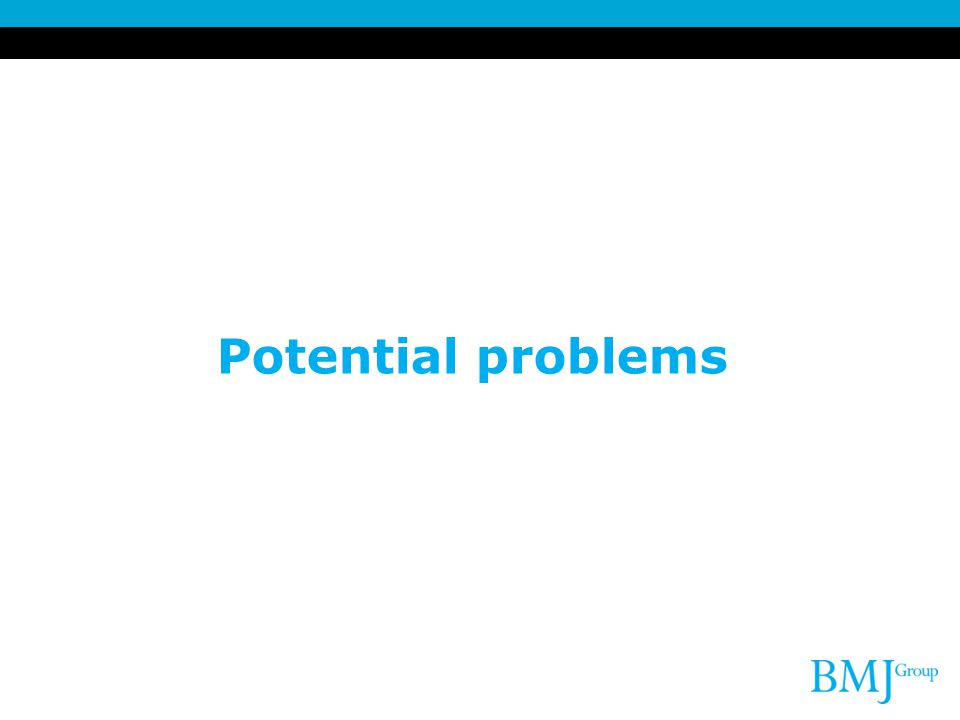 Potential problems 16