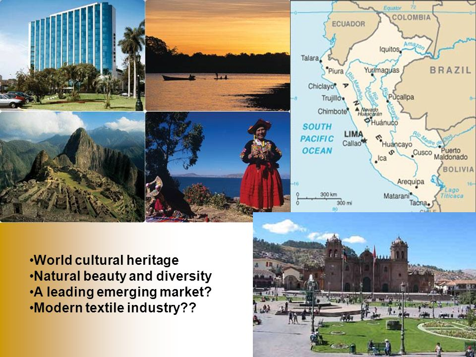 World cultural heritage Natural beauty and diversity