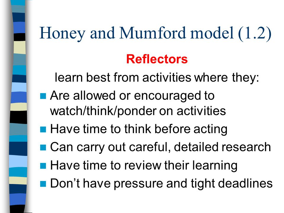 Honey and Mumford model (1.2)
