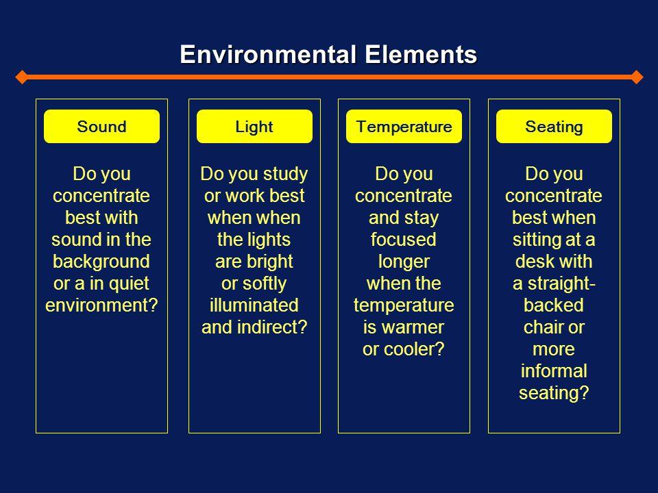 Environmental Elements