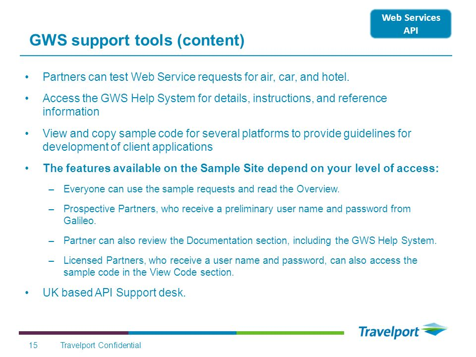 GWS support tools (content)
