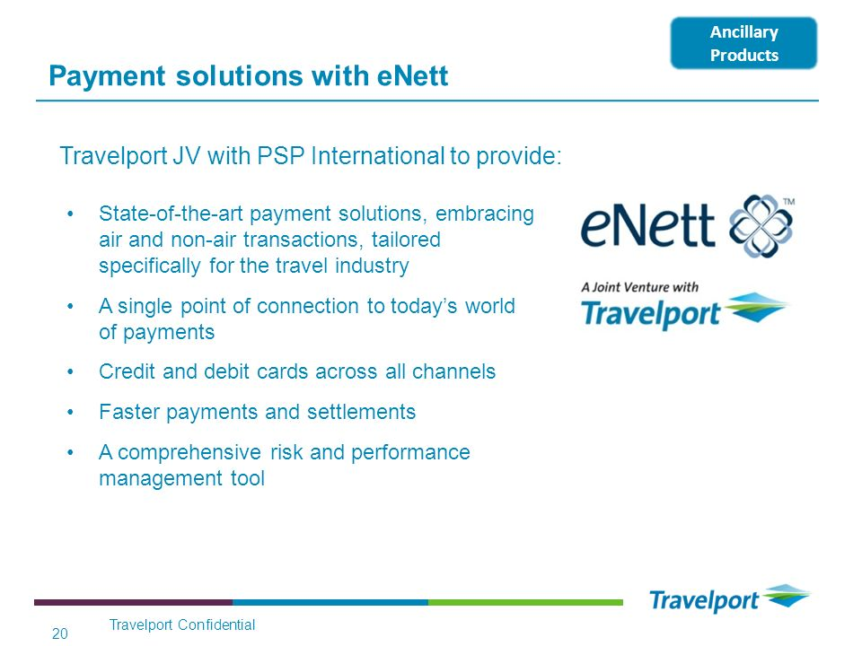 Payment solutions with eNett