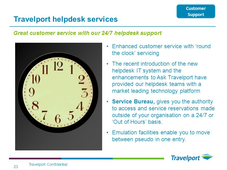 Travelport helpdesk services
