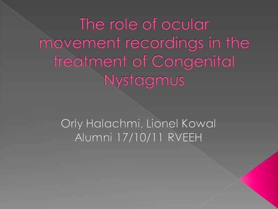 Orly Halachmi, Lionel Kowal Alumni 17/10/11 RVEEH