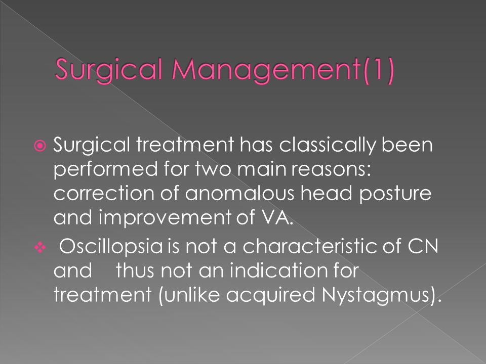 Surgical Management(1)