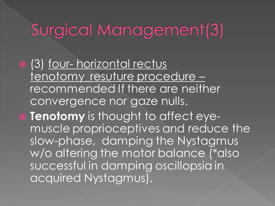 Surgical Management(3)
